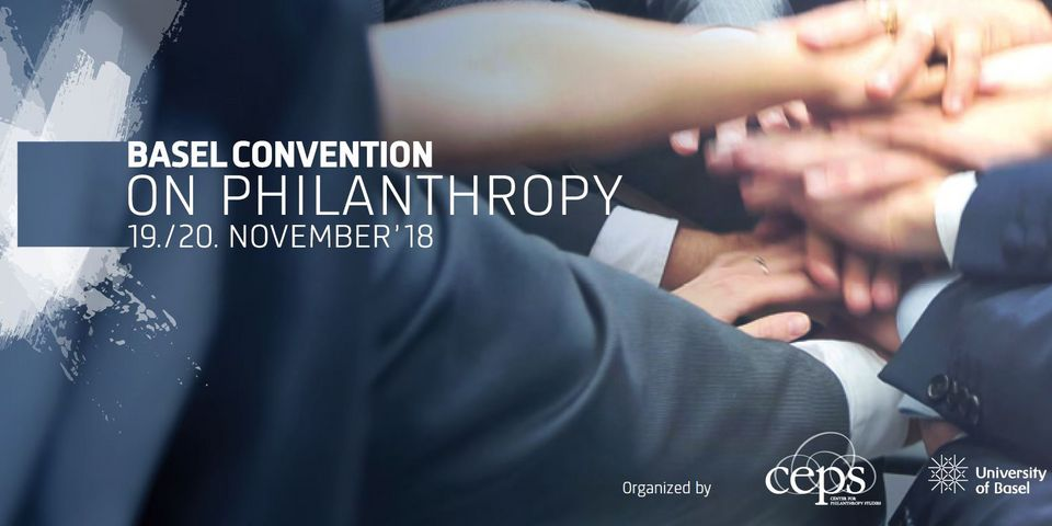 Flyer Basel Convention on Philanthropy