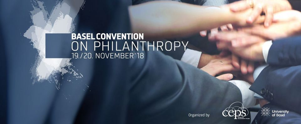 [Translate to English:] Flyer Basel Convention on Philanthropy
