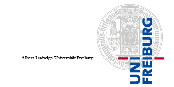[Translate to Français:] Logo Albert-Ludwigs-Universität Freiburg