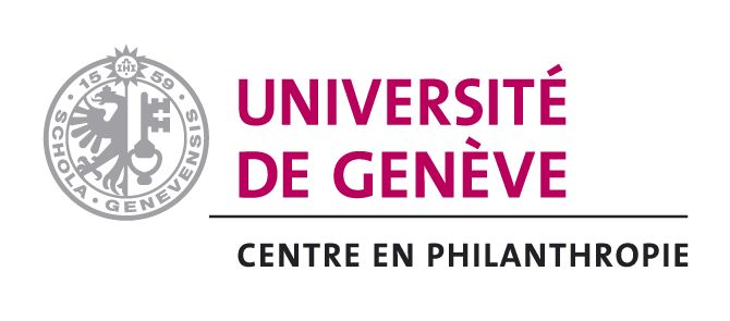 [Translate to Français:] Logo Centre en Philanthropie Universität Genf